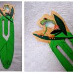 La rana de ojos verde