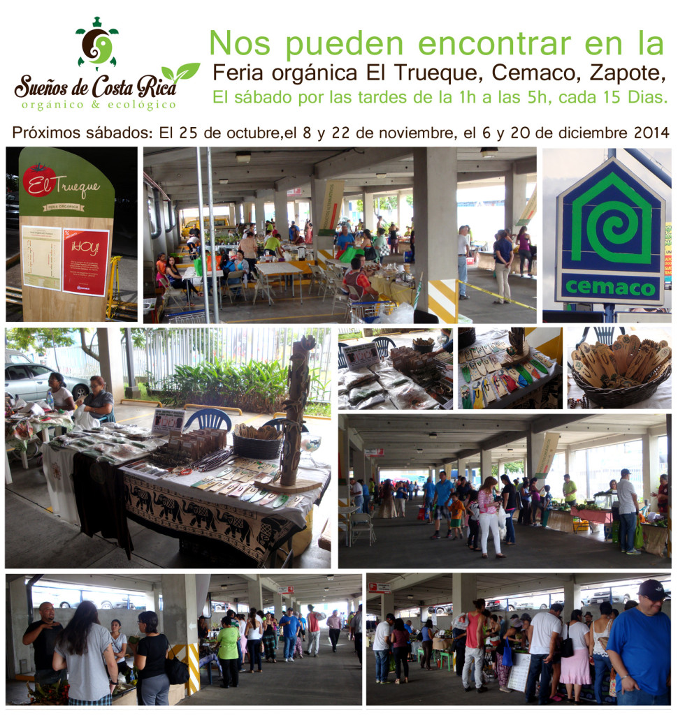 Feria orgánica El Trueque Cemaco, San Jose, Costa Rica