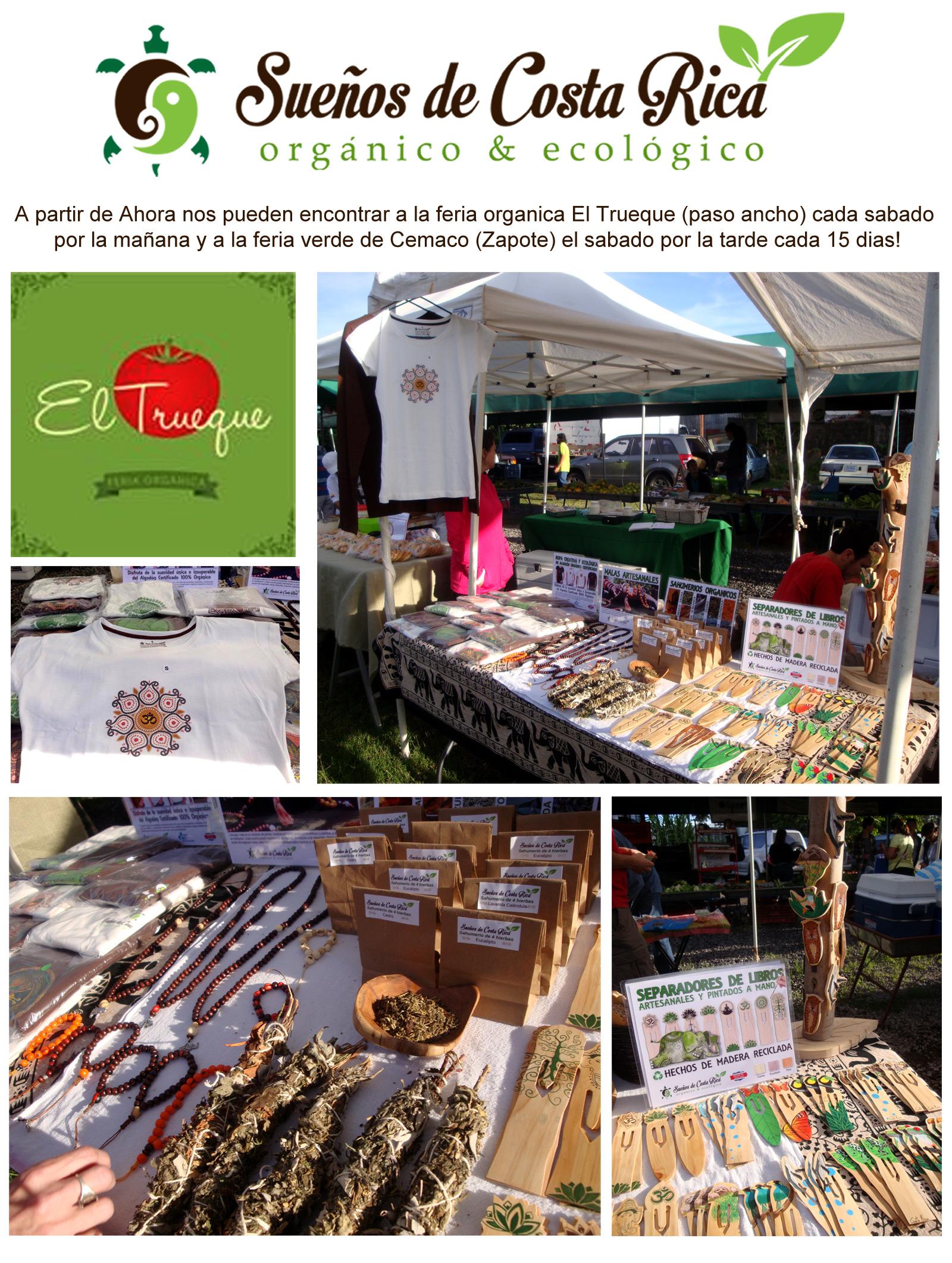 Feria orgánica y ecológica el Trueque, Zapote