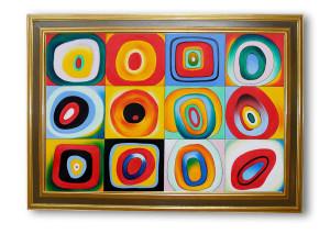 "Wassily Kandinsky ""Farbstudie"","