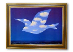 "René Magritte, ""La promesa"""