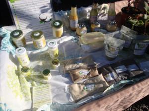 Salsas y aceites de coco