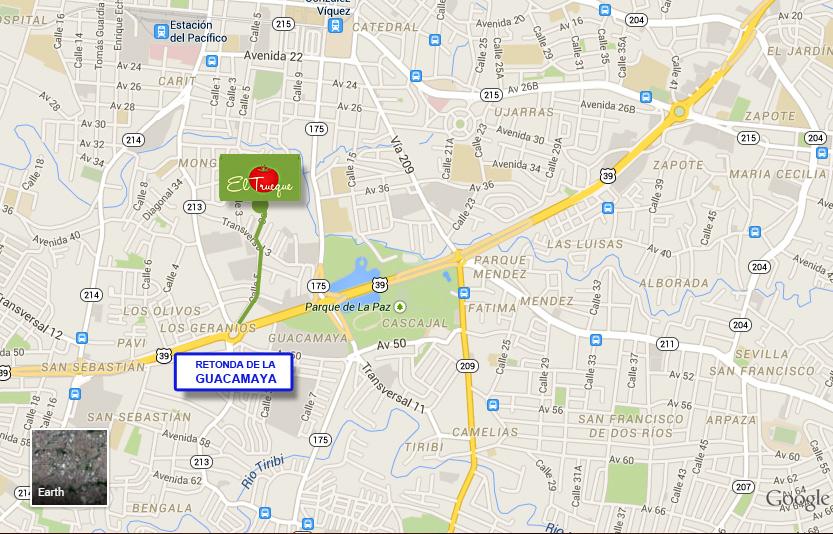 mapa_feria_organica_san_jose_costa_rica