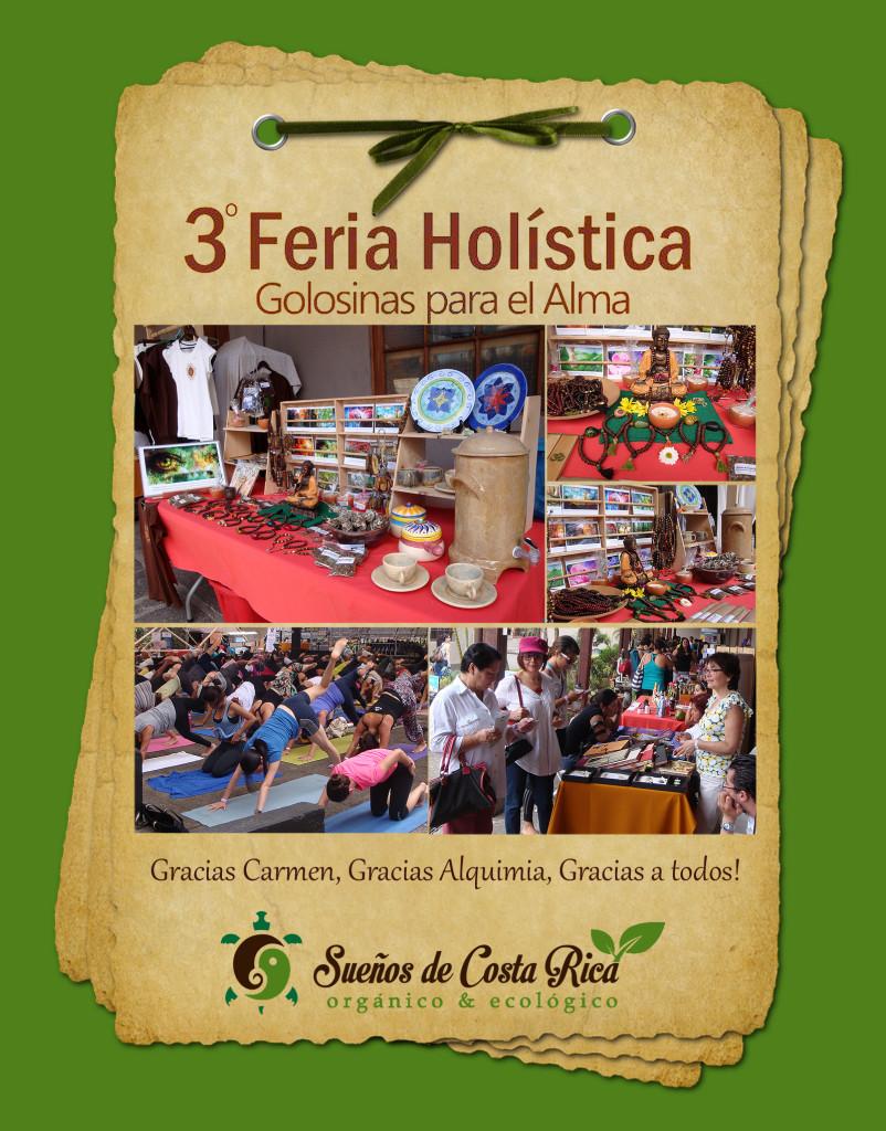 Feria Vida Holistica, yoga, medicinas alternativas y más en Costa Rica!