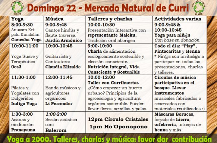 Inauguración del mercado orgánico y del festival natur'Orgánico de Curridabat